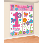 5 Scene Setter Sweet Birthday Girl 5 Pieces