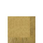 50 Napkins Gold 25 x 25 cm