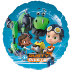 "Standard ""Rusty Rivets"" Foil Balloon S60 Packaged 43 cm"
