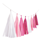 1 Tassel Garland - Hot Pink