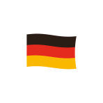 Flag Germany Fabric 90 x 150 c