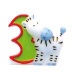 Numeral Candle 3 Safari