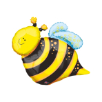 Mini Shape Happy Bee Foil Balloon A30 Air Filled