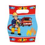 8 Loot Bags Fireman Sam
