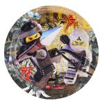 "8 Plates round""Lego Ninjago"", 18 cm"