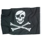 Flag Pirates Fabric 92 x 60 cm