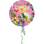 Standard Tinker Bell Foil Balloon S60 Packaged 43 cm