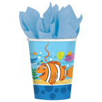 8 Cups Ocean Buddies 266 ml
