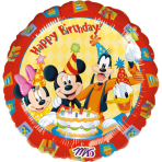 Standard Mickey Happy BirthdayFoil Balloon S60 Packaged