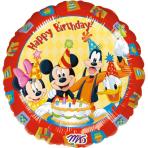 Standard Mickey Happy BirthdayFoil Balloon S60 Packaged