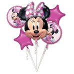 Bouquet Minnie Mouse Forever Foil Balloon P75 packaged