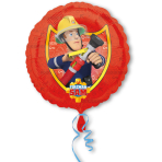 Standard Fireman Sam Foil Balloon S60 Packaged 43 cm