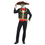 Adult Costume Day of the Dead Senor Size M/L