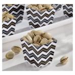 36 Treat Cups Paper Minis black 4,4 x 4,4 x 4,9cm
