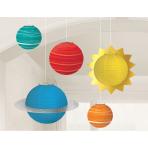 5 Lanterns Blast Off Paper 14.6 cm / 19.6 cm / 29.2 cm / 41.9 cm
