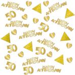 Confetti Golden Anniversaries Foil 28 g