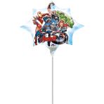 "Mini Shape ""Avengers"" Foil Balloon, A30, bulk, 25 x 27cm"