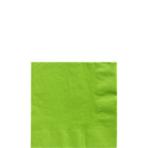 50 Napkins Kiwi Green 25 x 25 cm