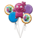 Bouquet Ugly Dolls Foil Balloon P75 Packaged