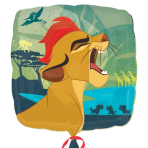 """Standard """"Lion Guard"""" Foil Balloon Square, S60, packed, 43cm"""
