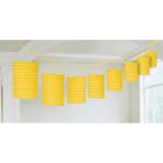 Lantern Garland Sunshine Yellow Paper 365 cm