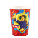 8 Cups Fireman Sam 2017 Paper 250 ml