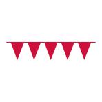 Pennant Banner Apple Red Plastic 1000 x 32 cm