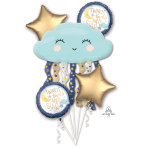 Bouquet Twinkle Little Star Foil Balloon P75 packaged