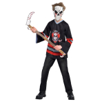 Teen Costume Bloody Face Off Age 12 - 14 Years