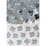 Confetti 25 Silver Metallic 14g