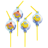 8 Drinking Straws SpongeBob