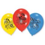 6 Latex Balloons Piraates! 22.8 cm/9''