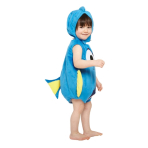 Children's Costume Dory Plush Tabard with Feature Hat 18-24 Monts