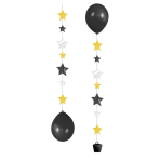 3 Balloon Tails for 11 Balloons Stars 50.8 cm