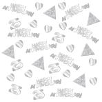 Confetti Silver Anniversaries Foil 28 g