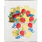 Confetti Cake Party Multicolour Foil 14 g