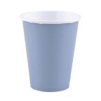 8 Cups Pastel Blue Paper 266 m