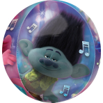 Orbz Trolls World Tour Foil Balloon G40 packaged