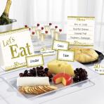 Buffet Kit Gold Anniversaries 12 parts