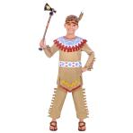Children's costume Tepee &Tomahawk Boy 4-6 years