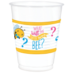 25 Cups What Will It Bee? Plastic 473 ml