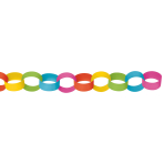 Chain Link Garland Multicolour390 cm