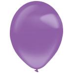 "50 Latex Balloons Decorator Crystal Lilac 35 cm / 14"""
