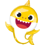 Supershape Foil Balloon Baby Shark P38, packaged