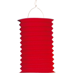 Drop Lantern Red Paper 28 cm