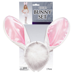 Costume Accessory Set Bunny Child 2 Pieces