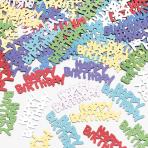 Confetti Happy Birthday Metallic Foil 14 g