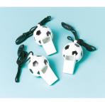 12 Whistles Championship Soccer Plastic 6.2 x 3.2 cm