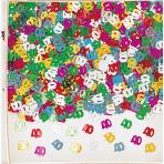 Confetti 40 Multicolour Foil 14 g