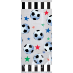 20 Party Bags Championship Soccer Plastic 27.9 x 12.7 x 7.3 cm